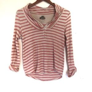 Pilcro and the Letterpress stripe Henley Size S